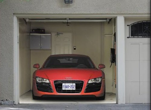 Audi Canada Offers Garages An R8 V10 For Just $469.99