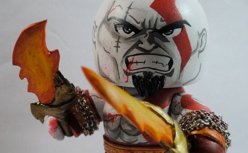 God Of War Figure Goes Tiny, Lets Itself Go
