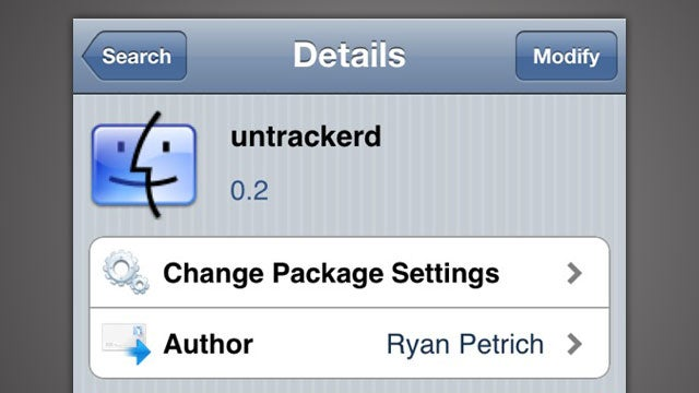 Untrackerd Destroys Your iPhone's Tracking Data
