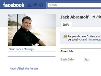 Time to Facebook-Friend Disgraced Lobbyist Jack Abramoff!