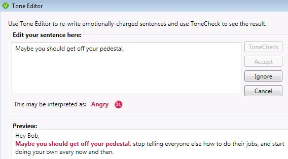 ToneCheck Stops You from Sending Passive Aggressive (or Plain Aggressive) Emails