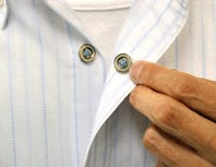 Magnetic Pajama Buttons Get You From Clothed to Naked in 0.5 Seconds
