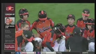 Little League Coach Gives Great Post-Game Speech To Kids After Loss