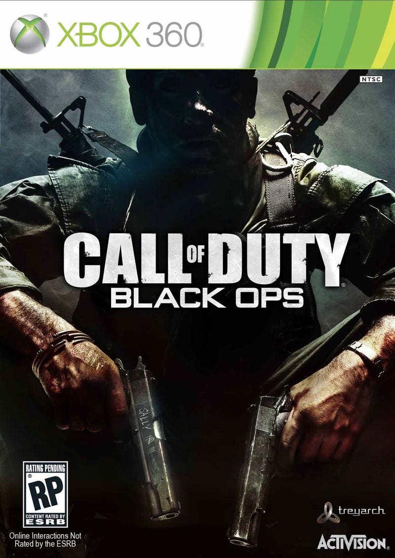 Call Of Duty: Black Ops Cover Has No Explosions Or Helicopters