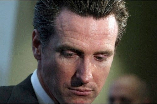 Gavin Newsom Will Not Be Governor of California (This Time)