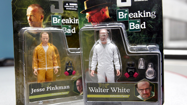 Toys R Us pulls Breaking Bad figures from sale after angry petition