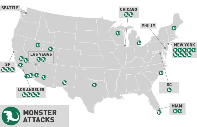 Map: How Hollywood Has Destroyed America