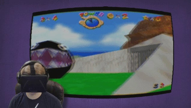 Super Mario 64 Feels Great, But Plays Like Crap on Oculus Rift