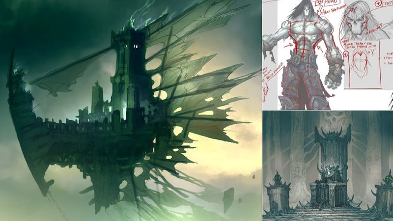 The Heavy-Metal Art Of Darksiders II