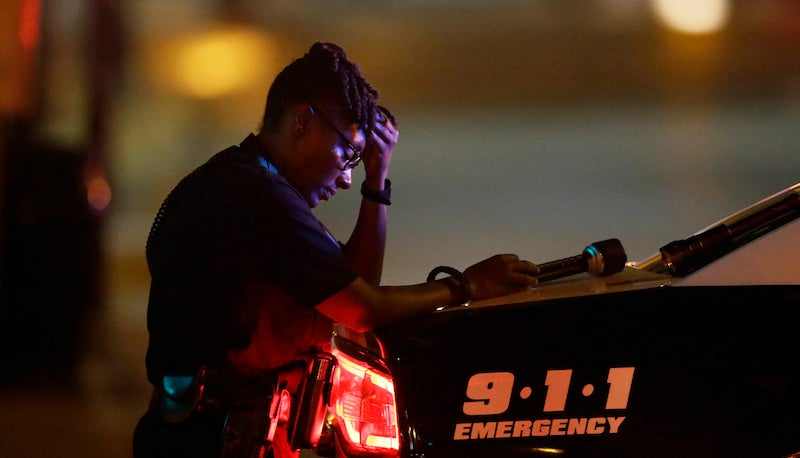 Police Say Dallas Shooting Was Carried Out by at Least Four Shooters Strategically Positioned on Rooftops