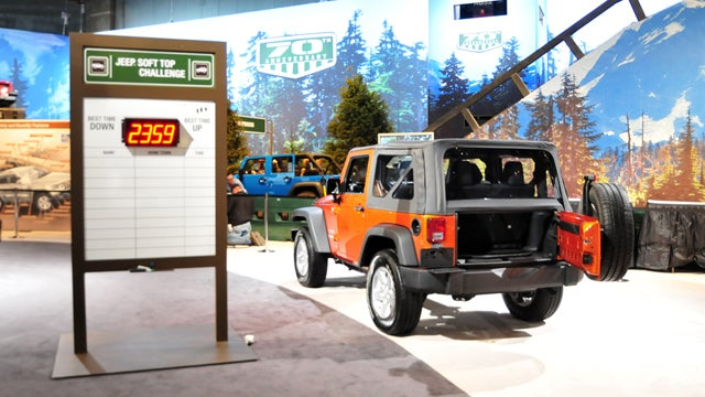 Your Chicago Auto Show menagerie of oddities