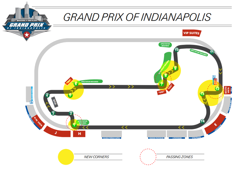 Indianapolis Motor Speedway Unveils Revamped Road Course for Indycar