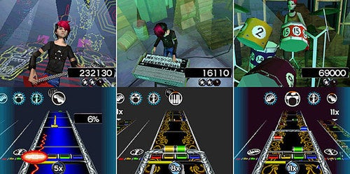 Rock Band 3 DS: It's Like Rock Band Meets Tapper