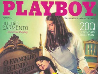 Jesus Appears in Portuguese Playboy (Updated)
