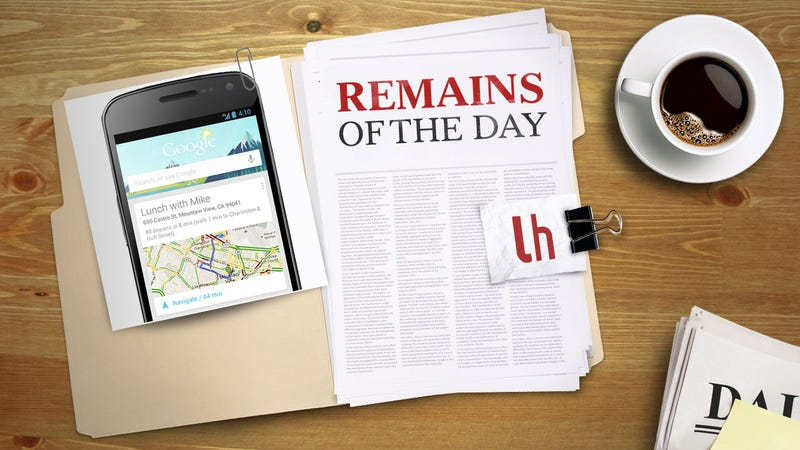 Remains of the Day: Google Now Becomes a Travel Companion