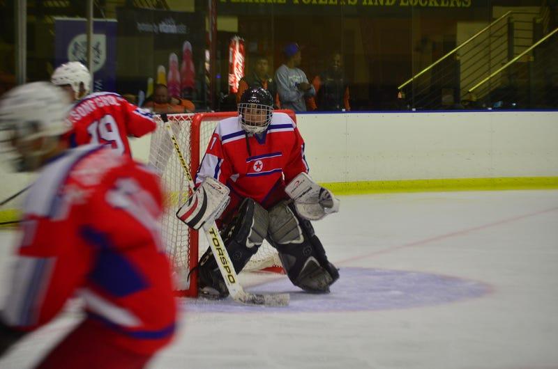 Photos: The North Korean Hockey Team
