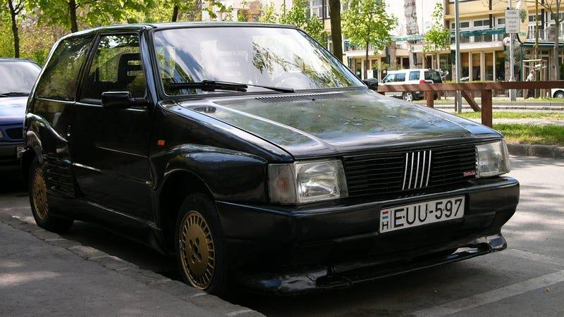 What a Ferrari Testarossa and a Fiat Uno have in common