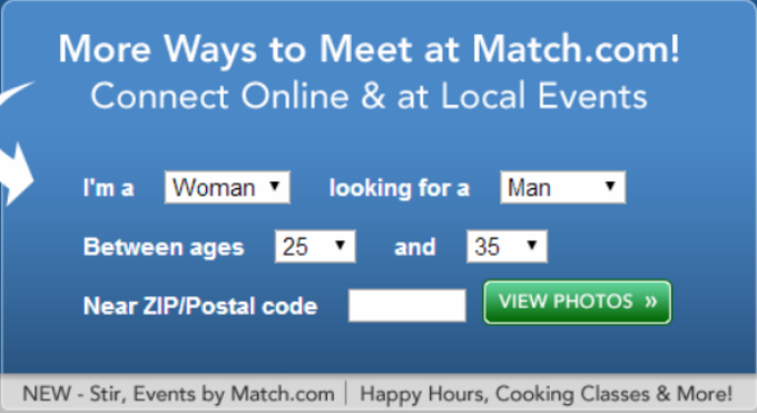 I wish all these new Match.com person-in-the-street commercials would be more honest