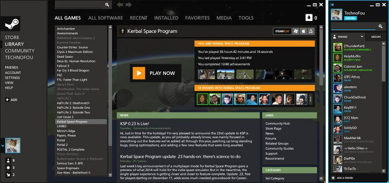 Steam Is Great, But It Could Do With A Redesign