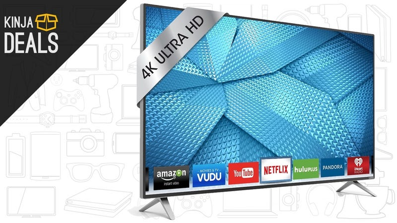 Today's Best Deals: Under Armour, 4K Vizio, Roomba Vacuums, and More