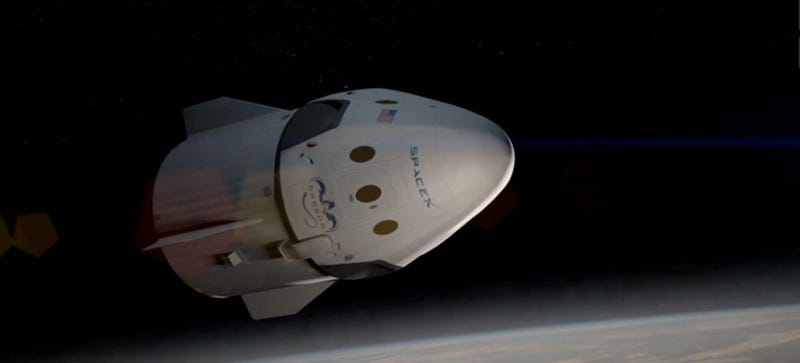 Here's Your First Look At The Dragon V2, America's Newest Spaceship