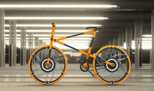 Is a Bike With Collapsing Wheels Really a Good Idea?