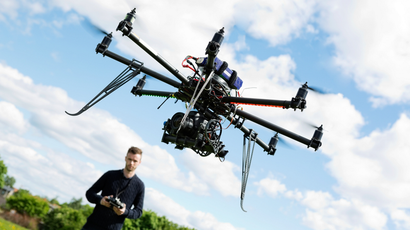 The U.S. has designated six sites for testing commercial drones