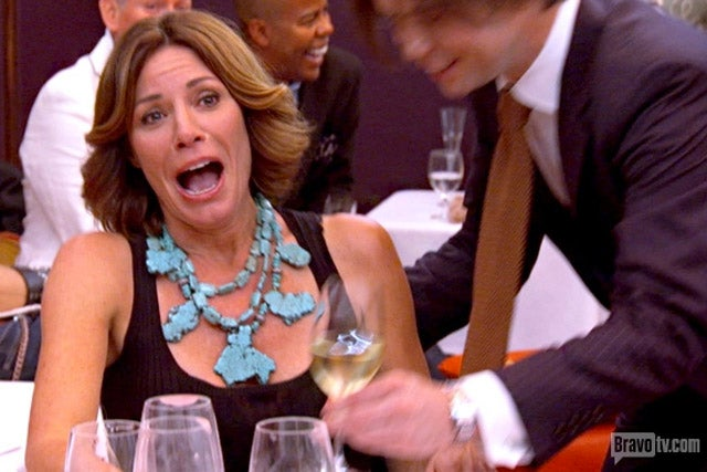 Aviva Rips Off and Throws Her Leg on Real Housewives of NY Finale