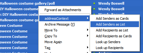 Batch Add Email Addresses with AddressContext