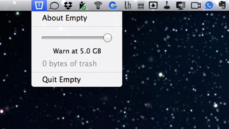 Empty Reminds You to Empty Your Mac's Trash