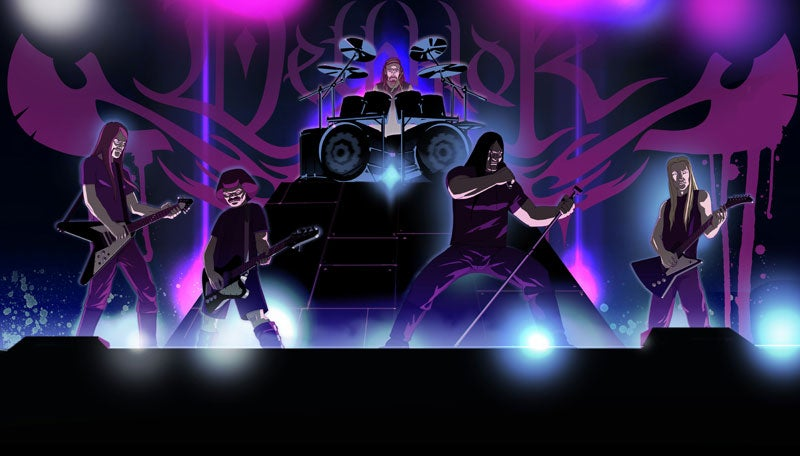 Dethklok Wants To See You Play Guitar Hero