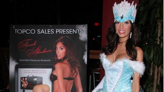 Farrah Abraham Dressed Up as <em>Frozen</em>'s Elsa to Sell Molds of Her Asshole