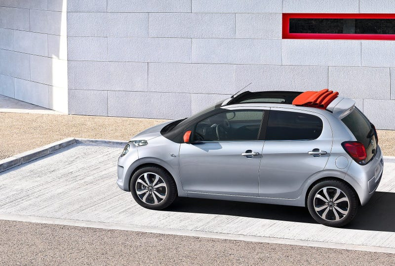 Well If The New 2015 Citroën C1 Isn't The Ugliest Little Turd