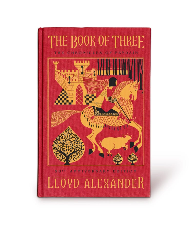 A Brilliant Cover to Celebrate 50 Years of Lloyd Alexander's Prydain