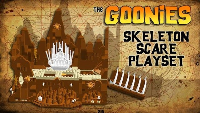 This Lego Goonies Set Will Make You Do the Truffle Shuffle