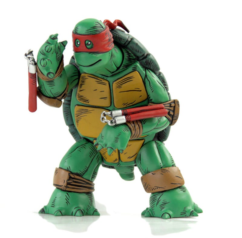 Where Can I Find Ninja Turtle Toys : The original teenage mutant ninja turtles design comes to