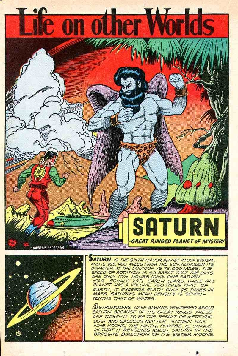 The planets of the Solar System, according to crazed pulp comics of the 1940s