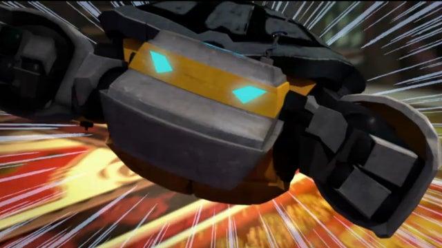 Donatello debuts a refurbished Robo-Turtle on TMNT