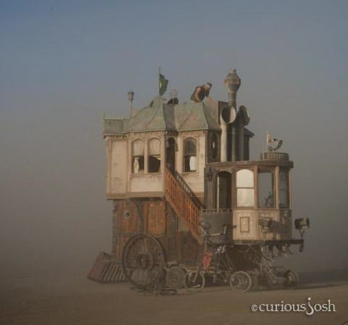 The Ingenious and Absurd Converge, Dustily, at Burning Man