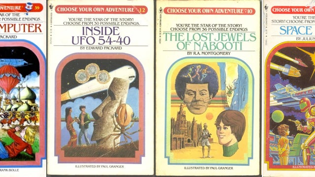 Choose Your Own Adventure Series Reborn In Books and Apps