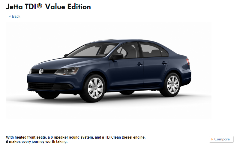 VW gets it right for America: new trim puts Jetta TDI at $21,295... cheapest diesel here!