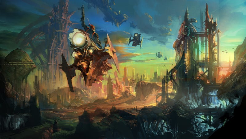 Gorgeous Tera Concept Art, Fresh From Korea