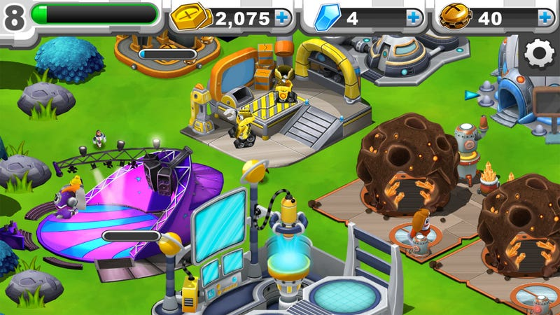 Dragonvale with Robots?! You Bastards.