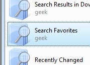 Search Internet Explorer Favorites in Vista with a Shortcut