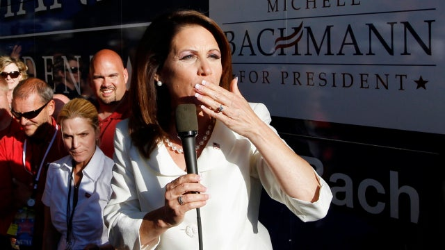 Michele Bachmann Says Dumb Things Because She's Always Talking