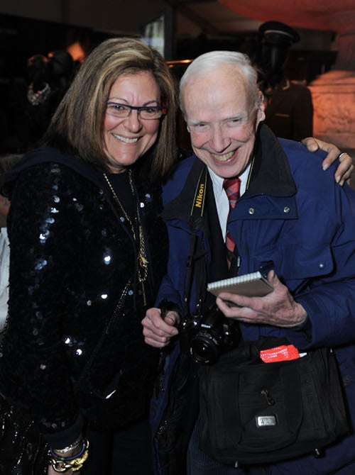 Even Anna Wintour Was Smiling At Bill Cunningham's Party