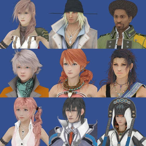 Why There's A Naked Final Fantasy XIII Character Model