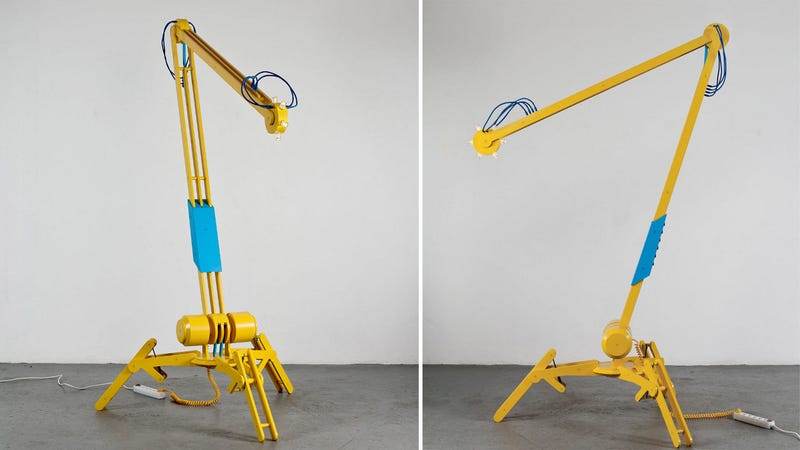 Industrial Desk Lamp Perfectly Complements Your Construction Site Motif