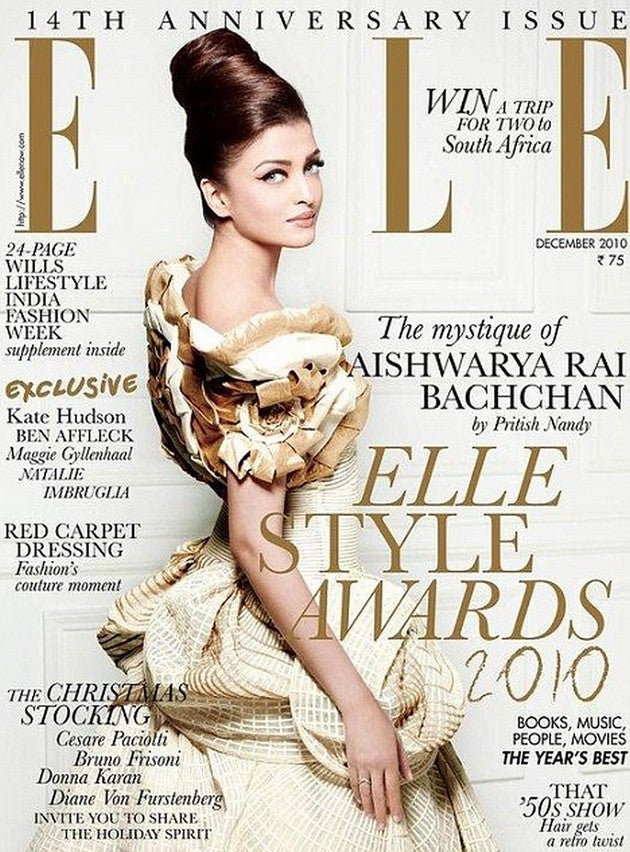 Did Elle Lighten Aishwarya Rai Bachchan's Skin on Indian Cover?
