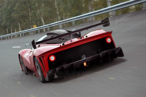 Ferrari P4/5 Competizione: The Work In Progress Renderings